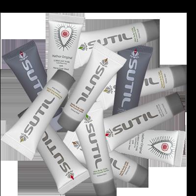 Sutil Body Glides Sample Bag of 12 assorted